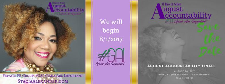 We will beginAugust 1, 2017